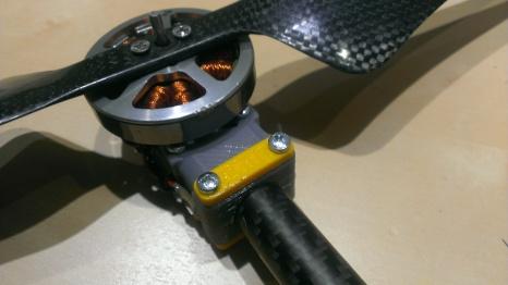 New motor mount (top view)