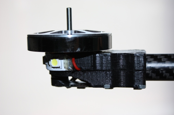Old motor mount (side view)