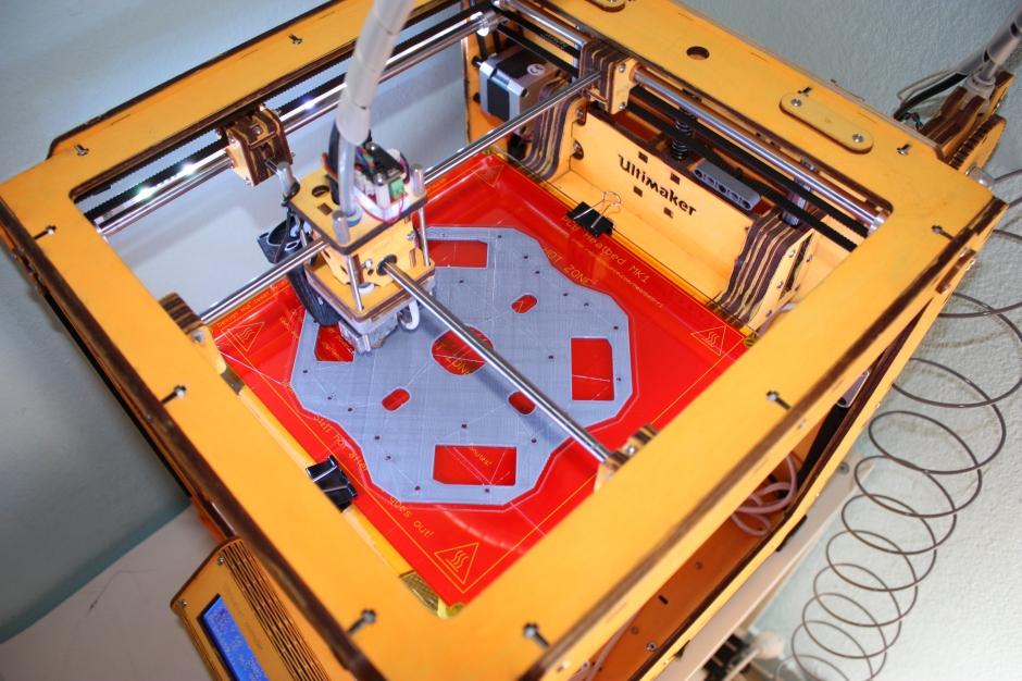 3D printing bottom plate