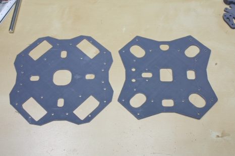 Top and bottom frame plates