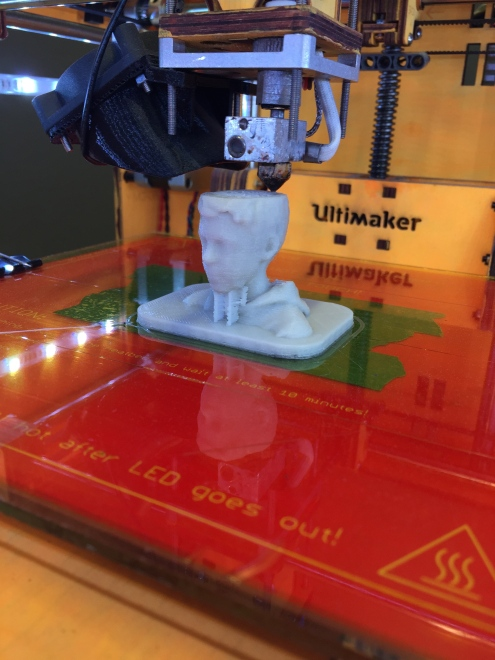 3D printing a kid in glow-in-the-dark plastic